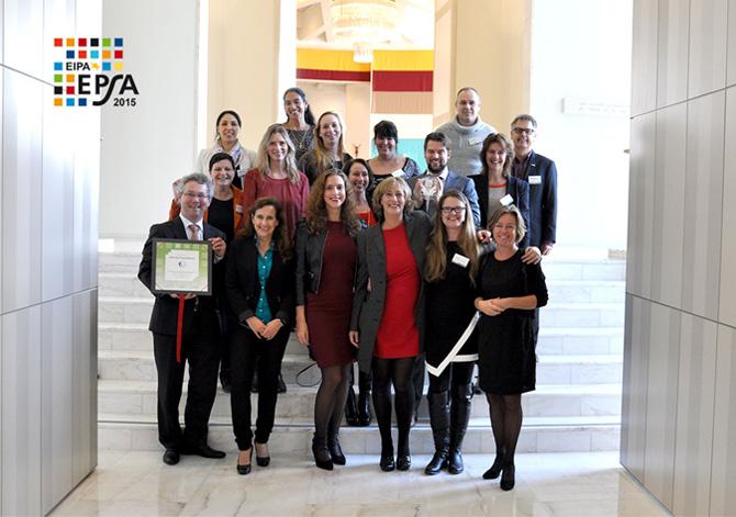 EPSA European Public Sector Award Jeugdbescherming Regio Amsterdam