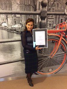 Antonietta Cedeo certificaat